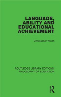 Language, Ability and Educational Achievement