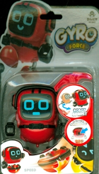 자이로 팽이 로봇