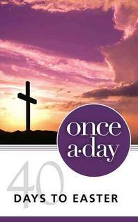 Niv, Once-A-Day 40 Days to Easter Devotional, Paperback