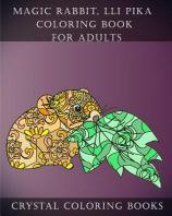 Magic Rabbit, lli Pika Coloring Book For Adults