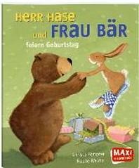 Herr Hase und Frau Baer feiern Geburtstag