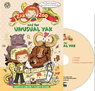 Zak Zoo and the Unusual Yak. 4 (with CD)