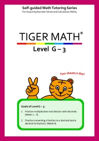 Tiger Math Level G-3