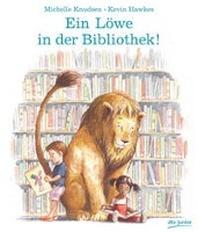 Ein Loewe in der Bibliothek!