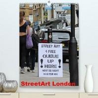 StreetArt London (Premium, hochwertiger DIN A2 Wandkalender 2020, Kunstdruck in Hochglanz)