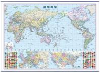 밀러도법 세계지도(정치)(4 6전지1매)(108X98)