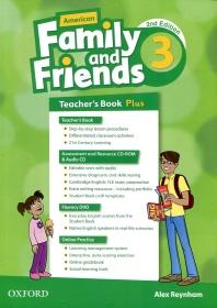 American Family and Friends 2E 3 TB Plus