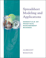 Spreadsheet Modeling and Applications