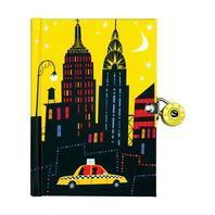 New York City Locked Diary