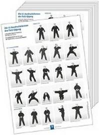 Poster - Die 15 Ausdrucksformen des Taiji-Qigong (10 Stueck DIN A3)