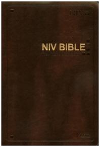NIV Bible(Dark Brown)(Large)(색인)(New Edition 2011)