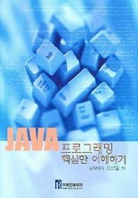 JAVA 프로그래밍 핵심만 이해하기