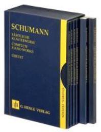 Saemtliche Klavierwerke Set(슈만/피아노작품집전집 세트)(HN 9932)