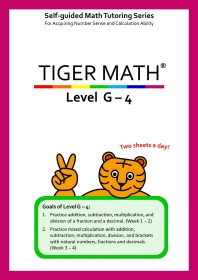 Tiger Math Level G-4