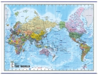 The World(정치구분)(메르카토르도법)(영문)(국전지2매)