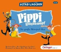 Pippi Langstrumpf. Die grosse Hoerspielbox (6 CD)