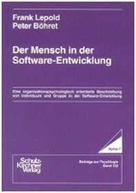 Der Mensch in der Software-Entwicklung