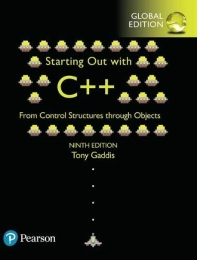 Starting Out with C++ from Control Structures through Objects