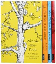 Winnie-the-Pooh Classic Collection 곰돌이 푸 클래식 4종 세트 (올컬러)