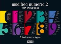 변형된 숫자 서체 집대성. 2