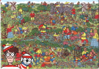 월리와 친구들 판퍼즐(80조각)(80-7)