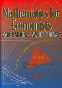 Mathematics for Economist