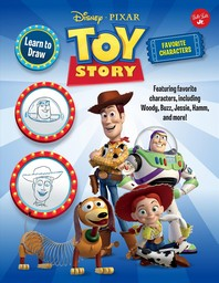 Learn to Draw Disney Pixar Toy Story, Favorite Characters