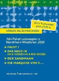 Abitur Deutsch Leistungskurs Nordrhein-Westfalen 2020 - Koenigs Erlaeuterungen-Paket.