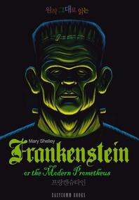 원작 그대로 읽는 프랑켄슈타인(Frankenstein, or the Modern Prometheus)