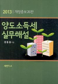 양도소득세 실무해설(2013)