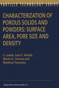 Characterization of Porous Solids and Powders