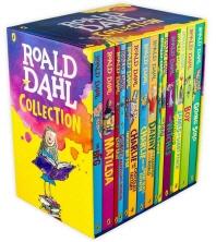 Roald Dahl 로알드달 베스트 15종 박스 세트 (Paperback) 개정판