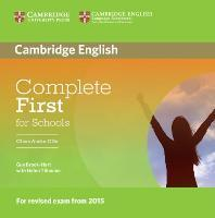 Complete First for Schools Class Audio CDs (2)