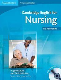 Cambridge English for Nursing: Pre-Intermediate