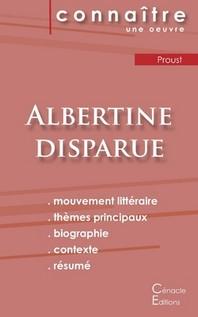 Fiche de lecture Albertine disparue de Marcel Proust (analyse compl?te)