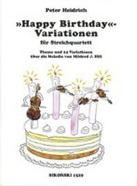 Variations on Happy Birthday for String Quartet
