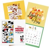 디즈니 미키 마우스 벽걸이 달력(2021)