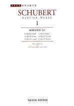 슈베르트집 1:소나타 제1권(세계 음악 전집 태림판 22)