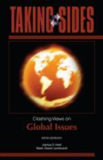 Taking Sides, 5/e : Clashing Views on Global Issues
