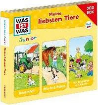 Was Ist Was Junior-3-CD Hoerspielbox Vol.3 Tiere