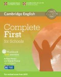 Complete First for Schools Workbook with Answers [With CD (Audio)]
