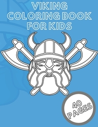 Viking Coloring Book For Kids