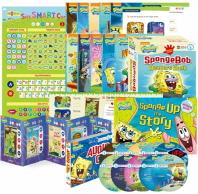 스폰지밥(SpongeBob SquarePants) 리더스북 10종 Level 3 A세트(세이펜BOOK)