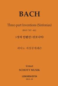 피아노 지상공개레슨 ISLS. 29: 바흐 3성의 인벤션(신포니아)