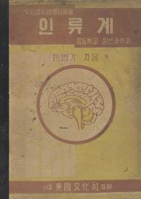 우리의 고전과 옛 교과서 629책. 450 중등학교일반과학과 인류계
