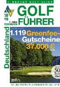 Albrecht Golf Fuehrer Deutschland 18/19 inklusive Gutscheinbuch