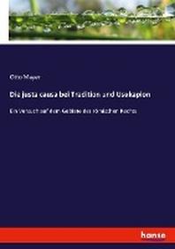 Die justa causa bei Tradition und Usukapion