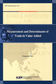 Measurement and Determinants of Trade in Value Added