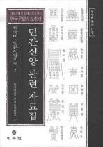 민간신앙 관련 자료집: 한국어 일본어 잡지편. 2