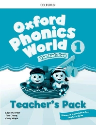 Oxford Phonics World 1 Teacher's pack